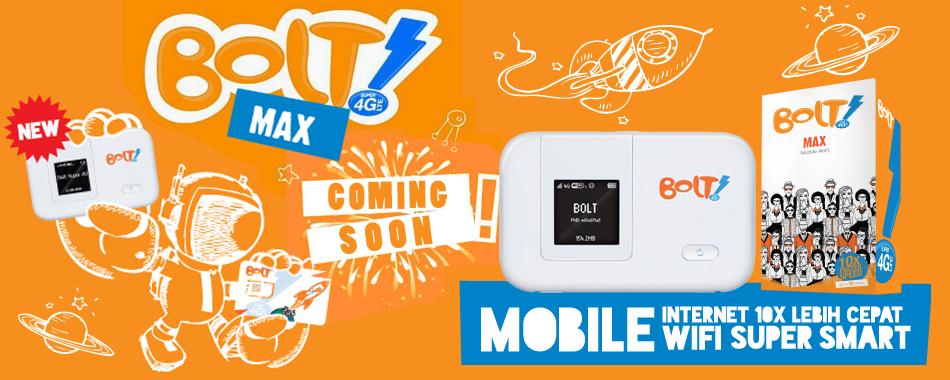 Coming Soon #BOLT Max