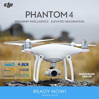 DJI Phantom 4 Ready Now