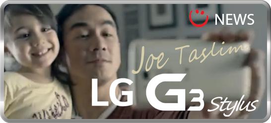 LG G3 stylus Joe taslim
