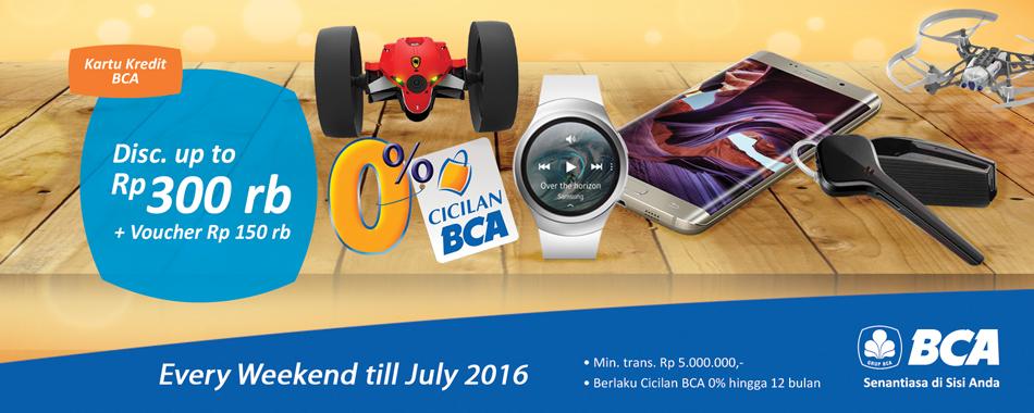 BCA weekend