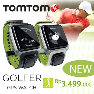 TOMTOM golfer bunker