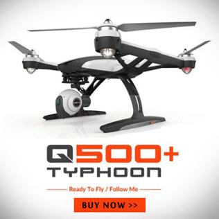 Yuneec Typhoon Q500 Plus