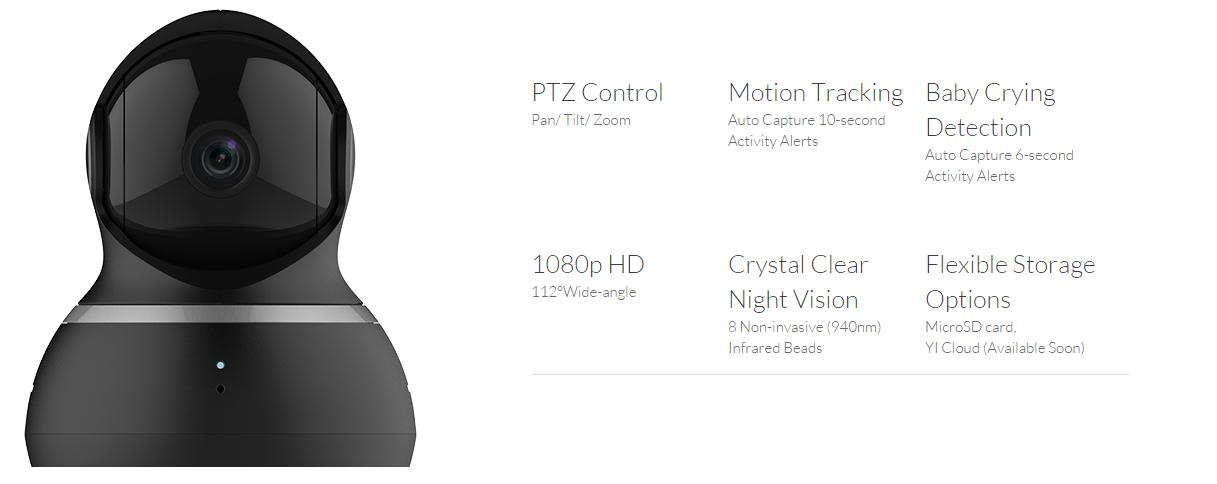 Xiaomi Yi Dome Camera - TokoPDA com